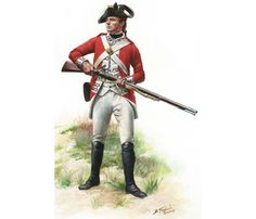 British Marine Pvt., Plymouth Division 1775 British Royal Marines, British Army Uniform, British Uniforms, British Armed Forces, British Soldier, American Revolutionary War, American War, American History, British American