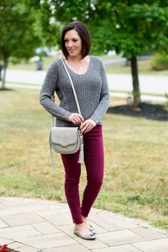 @jolynneshane love your silvery fall outfit!