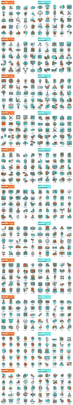 Buy Set of Flat Design Icons by alexdndz on GraphicRiver. Modern flat line design concept icons for Basic, Seo Web Optimization, Business Essential, Business Management, Corpo. Flat Design Icons, Icon Design, Doodle Icon, Geometric Poster, Business Essentials, Best Icons, Social Media Icons, Business Icon, App Design