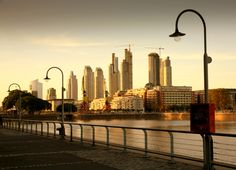 Sunset in Puerto Madero