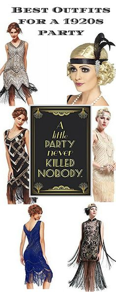 Best Outfits for New Years Party Gatsby Style