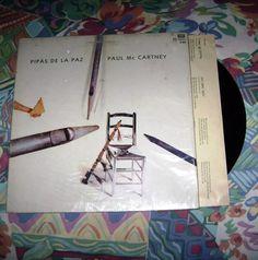 Lp Vinilo Paul Mc Cartney 1983 Pipas De La Paz Ed. Argentina - $ 199,90 en Mercado Libre