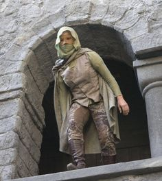 Lucy Griffiths as Maid Marian as the Night Watchman BBC's Robin Hood (her boots kind of bug me...I know there are a lot of modern elements but it seems like they could've done something to cover the zipper...or the tread hahaha)