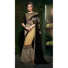 http://www.thatsend.com/shopping/lp/fvp/TESG212026/i/TE275642/iu/black-georgette-traditional-saree  Black Georgette Traditional Saree Apparel Pattern Embroidered. Work Embroidery, Border Lace. Blouse Piece Yes. Occasion Festive, Diwali. Top Color Black.