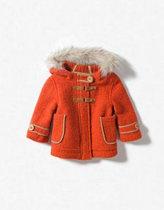 zara little girl's jacket Brodeur-Ward Outfits Niños, Kids Outfits, Baby Girl Fashion, Fashion Kids, Fashion Shoes, Zara Kids Coats, Little Girls Jackets, Baby Coat, My Baby Girl
