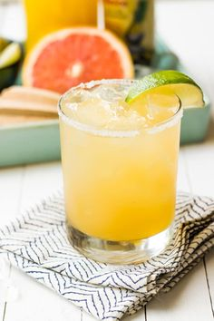 Serve These: Pineapple Grapefruit Paloma