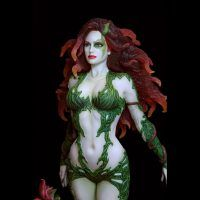 Fantasy Figure Gallery DC Comics Collection Poison Ivy Resin Statue 3