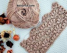 Crochet Blocks, Crochet Borders, Crochet Motif, Crochet Stitches, Crochet Scarves, Crochet Yarn, Cute Crochet, Easy Crochet, Baby Knitting Patterns
