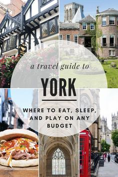 Just a quick, 2-hour train ride north of London is the historic city of York, England. It's the perfect destination to discover medieval landmarks, charming tea rooms, boisterous pubs, and the idyllic streets of The Shambles, that inspired Diagon Alley. I