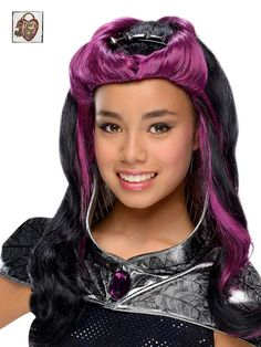 child raven queen wig