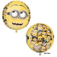 Minion's orbz balloonone stop kids party shop Helium Balloons, Foil Balloons, Minion S, Wholesale Party Supplies, Minion Birthday, Printed Balloons, Birthday Parties, Shapes, Party Shop