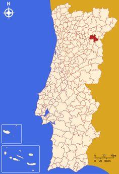 *INFO WIKI Ubicación de Vila Nova de Foz Côa