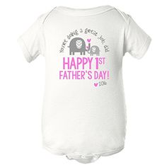 Youre doing a great job Dad HAPPY 1ST FATHERS DAY  from daughter 3 mos ** You can get more details by clicking on the image.