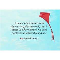 Great quote from Anne Lamott