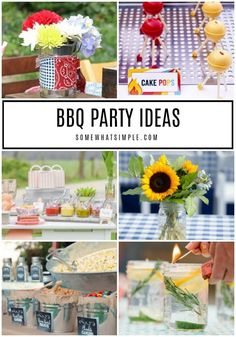 Take your grilling game to the next level with our favorite 15 BBQ Party Ideas! #bbq #summer #summerfun #party #partyideas
