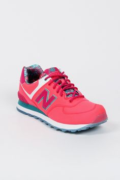 New Balance, Womens Classic pink/pink/teal