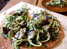 Sunfired raw food recipes from dr aris latham optimal well how to make raw pizza forumfinder Choice Image