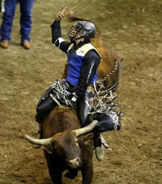 2014 CNFR, Saturday - Nevada Newman of Montana State http://trib.com/sports/rodeo/gallery-cnfr-championship