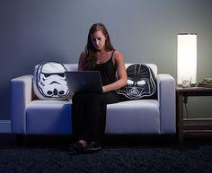 Star Wars Throw Pillow Set - Darth Vader & Stormtrooper