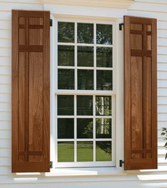 Exterior shutters can induce shudders when they are installed incorrectly or neglected near the windows on a home. Historically, examples of early exterior shutters were […] Modern Shutters, Farmhouse Shutters, Cedar Shutters, Custom Shutters, Diy Shutters, Farmhouse Windows, Exterior Shutters, Contemporary Shutters, Exterior Trim