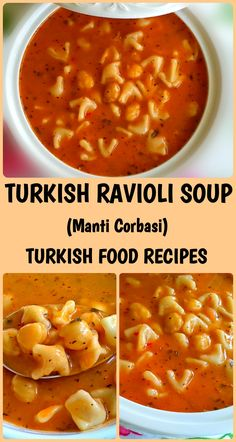 Hello Everyone! If you follow our website you might see that we shared Turkish ravioli recipe before. If this is your first visit, you may find the recipe here. Turkish ravioli soup is a very quick and fulfilling dish if you have some Turkish ravioli in the freezer and if you don't have them don't be sorry. You can always buy some Turkish ravioli from the store. Just try it and you will love love love! Ingredients: (you can buy the ingredients directly by clicking on them) - 1 1/...