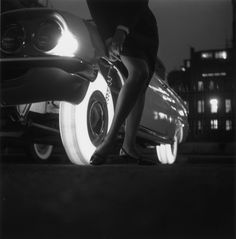 Unbelievable Inventions of the '60s: illuminated tyres.