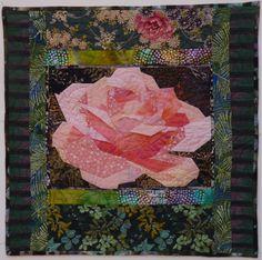 Pieced Flowers ~ Ruth McDowell