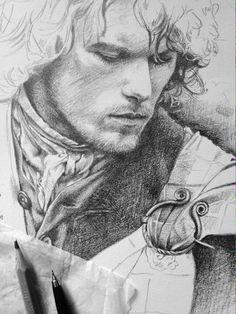 Wonderful sketch of @SamHeughan  >>>> https://www.facebook.com/sumergidaenti/posts/791891004258695:0 ….    #Outlander pic.twitter.com/hEL6Vo8UZg