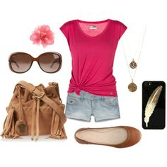 """summeroutfit"" by milky-silvers on Polyvore"