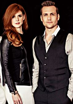 Donna Paulsen and Harvey Specter #SuitsUSA