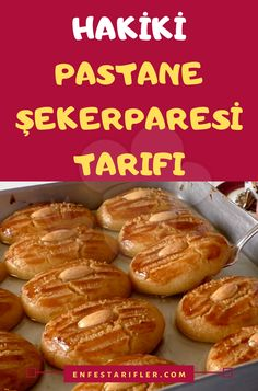 Hakiki Pastane Şekerparesi Tarifi – Kahvaltılıklar – The Most Practical and Easy Recipes Pesto Pasta, Iftar, Pumpkin Recipes, Beautiful Cakes, Nutella, Cooking Recipes, Easy Recipes, Sausage, Biscuits