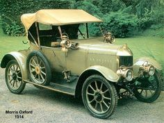 Coches Clásicos Americanos. Autos Antiguos.: Morris Oxford (1913, Gran Bretaña)