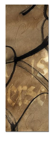 calligraphy rect brown