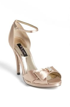 Nina 'Earleen' Pump (Online Only) available at #Nordstrom@sarstew how about this?  It comes in champagne.