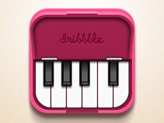 Dribbble - Piano by charhen
