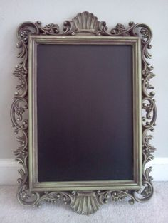 9092173255e Items similar to Shabby Chic Framed Chalkboard on Etsy. Distressed Picture  FramesShabby ...