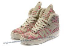 Girl Adidas M Attitude Big Tongue Monogram Shoes Pink Outlet