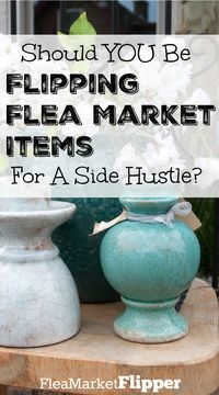 Have you ever thought about buying thrift store, flea market and yard sale items and reselling them for a profit? Maybe you should!  via @Fleamarketflipp