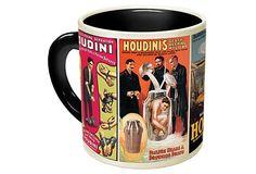 S/2 Houdini Mugs on OneKingsLane.com