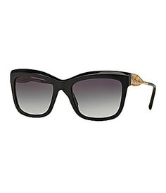 5d011af1ba61 Burberry Lace Gabardine Square Sunglasses