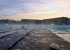 The stunning @Blue Lagoon during the 'Experience Midnight' session in July