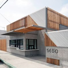 "18.5 k likerklikk, 65 kommentarer – Architizer (@architizer) på Instagram: ""Little Ground Cafe by WORD is a corner walk-up cafe that aims to enhance Los Angeles' rare…"""
