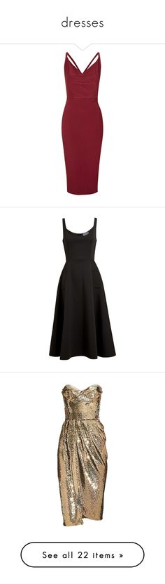 """dresses"" by unicornsxxx ❤ liked on Polyvore featuring dresses, wine, topshop, lanvin, vestidos, cocktail dresses, black skater skirt, midi flare dress, flared skirt and midi cocktail dress"
