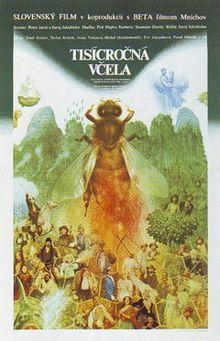 Vintage movie poster for Juraj Jakubisko film The Millennial Bee, by Albín Brunovský, 80s Posters, Online Posters, Vintage Posters, We Movie, Movie Titles, Film V, Poster Store, Alternative Movie Posters, Poster Making