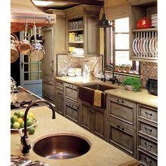 Mediterranean Kitchen...WOW! So need this kitchen some day. Love this!!