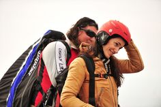 PARAPENTE en La Rioja con Laura Giovanetti // Foto: Ignacio Quintavalle