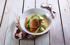 Κοτόπουλο με λαχανικά και γάλα καρύδας