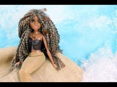 How to Make a Doll Costume : Mermaid - Doll Crafts - YouTube