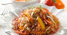 Λαχανόρυζο με πιπεριές Ethnic Recipes, Food, Essen, Meals, Yemek, Eten