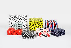 Wrapping paper for Depst on Behance